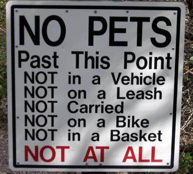 no-pets-sign