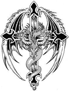 eagle cross logo